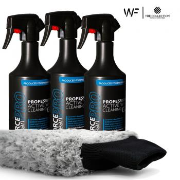 ForcecleanPRO | 3x Professional Wheel Cleaner (750ml) + Wash Mitt